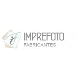 CARTONAJE TROQUELADO NEGRO ACHAROLADO PARA FOTO 09X13 Y 10X15 PASSE PARTOUTS