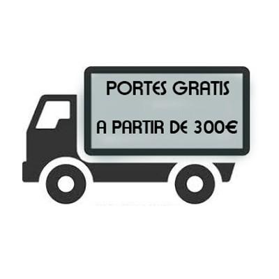 Portes GRATIS a partir de 300€