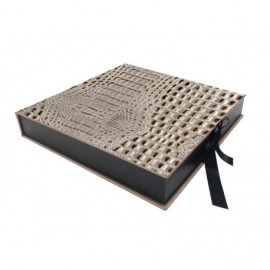 Caja Kuwait Plata interior madera ref.CAJA353
