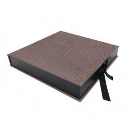 Caja Bengal Bronce interior madera ref.CAJA365