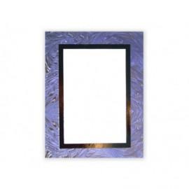 Cartonaje bicolor azul orla oro y base ref.C23 pack 25 unidades