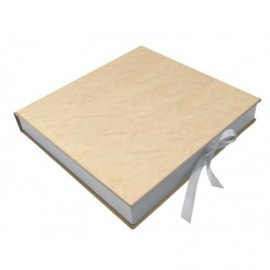 Caja Marmol Crema interior madera ref.CAJA324