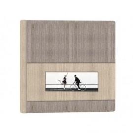 Album Boda en acer con ventana 20x8cm ref.36499H