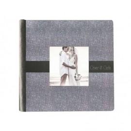 Album Boda plateado con ventana 14x14cm ref.3701602