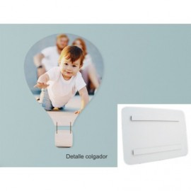Foto en PVC blanco de 5mm globo air