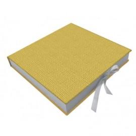 Caja album fotos Lienzo interior madera ref.CAJA126