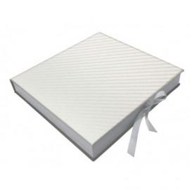 Caja nacarada Nigar Blanco interior madera ref.CAJA382